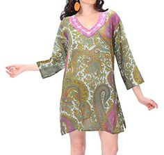 La Leela Sheer Lightweight Chiffon Beach Paisley Bikini Cover Up Plus Beige M Valentines Day Gifts 2017 >>> You can find more details by visiting the image link. Bikini Cover Up, Swimsuit Cover Ups, Swim Cover, Maternity Swimwear, Maternity Wear, Bikini Dress, Bikini Swimsuit, Chiffon Fabric, Sheer Chiffon