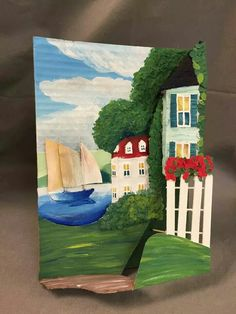 Famous paintings turned into 3-D sculpture with recycled materials. From FB closed group Art Teachers.