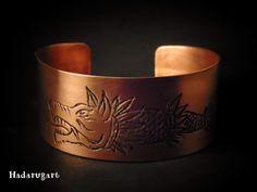 Artizan in cupru Copper Artwork, Cuff Bracelets, Deviantart, Rings, Jewelry, Romania, Teal Tie, Therapy, Diamond