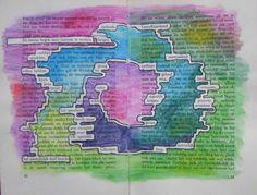 En ineens begon onze fantasie te werken. Boeksel door Loes Vork. Workshops voor Creativiteit & Ontmoeting: Boekselen