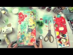I so love what she is doing with all the different techniques.... Behind the Art Texture with She Art (tease to she art class)