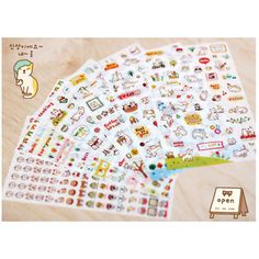 6 Pcs / Pack Korea Emoji stickers DIY fun anime Decorative stickers stickers My happy life Toys for girls Kids toys #>=#>=#>=#>=#> Click on the pin to check out discount price, color, size, shipping, etc. Save and like it!
