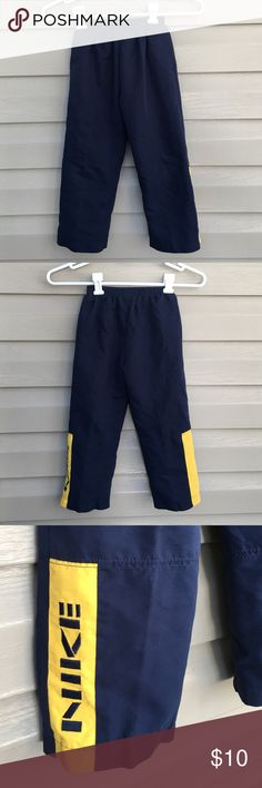 Nike boys pants Boys track pants 100% polyester elastic waistband no holes or stains Nike Bottoms Sweatpants & Joggers