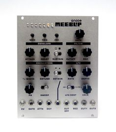 MATRIXSYNTH: MeeBlip Anode Eurorack Module Video & Review by Ninstrument