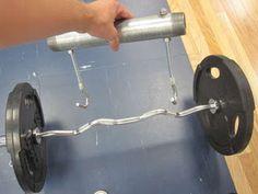 DIY Farmers Walk Bars   DIY Strength Training Gear DIY Fitness DIY Training Make Strength Equipment