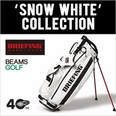 """<BRIEFING × BEAMS GOLF> """"SNOW WHITE"""" COLLECTION"""