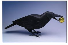 Raven Robert Lang Origami  @Lauren Bramble check it out!  OH YES, Lauren will LOVE this!