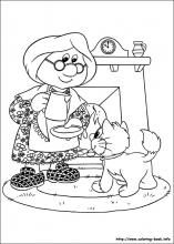 Postman Pat coloring pages on Coloring-Book.info