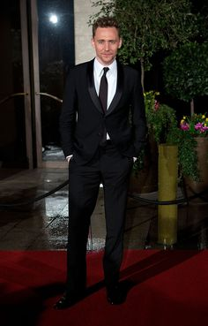 Tom Hiddleston at the BAFTAs. Via torrilla.tumblr.com