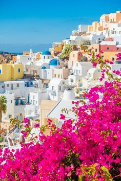 "Santorini Greece Travel Beautiful Places Take a Holiday's Tour to Beautiful Villages of Santorini Island Greece Santorini Greece Travel Beautiful Places. Santorini, officially known as ""… Vacation Places, Dream Vacations, Romantic Vacations, Italy Vacation, Romantic Travel, Greece Photography, Travel Photography, Beautiful Places To Travel, Travel Aesthetic"