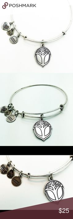 Alex and Ani Miracle of life bangle bracelet Silver color! Pictures by me! New with no tags Alex & Ani Jewelry Bracelets