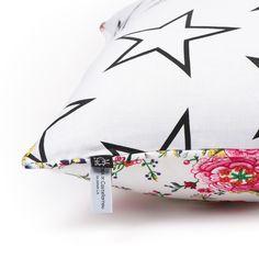 Stars & Floral Cushion // Mona de Castellarna