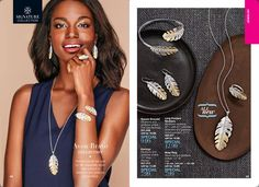 Avon Bravo Collection: Feathers are all the rage for fall- especially when they come in a sliver tone and gold tone ombre effects. Shop online today for all the Avon Jewelry. It makes a great Christmas, Birthday or any Holiday gift you are celebrating!!Shop online @(www.youravon.com/my1724) or click on the pin!