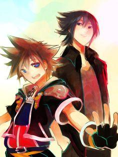 Noctis Lucis Caelum, Sora (Kingdom Hearts)