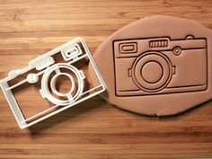 Camera Cookie Cutter Made to order by CookieParlor on Etsy