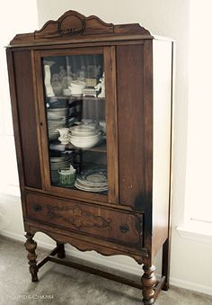 1000 Images About Old China Cabinets On Pinterest China