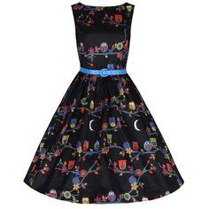 99f5c153b0cf9c Een swing Audrey jurk zonder mouwen gemaakt van matte stretch stof  ontworpen voor