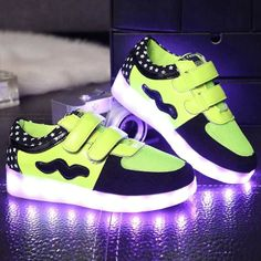 2016 light up shoes LED round head low flat shoes Led Light Up Sneakers, Light Up Shoes, Kids C, Big Kids, Sneakers For Sale, Sneakers Nike, Creative Shoes, Color Change, Nike Free