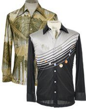 1970's Disco Shirts for the Groom