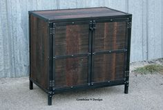 Mid Century Modern Nightstand/End Table.  Vintage by leecowen, $795.00