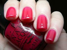 OPI Too pink to hold em (texas collection, slightly sheer)
