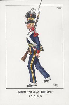 Granatiere della guardia svedese