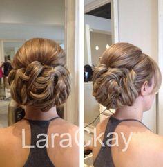 Bridal updo Formal Hairstyles, Pretty Hairstyles, Wedding Hairstyles, Bridal Updo, Wedding Updo, Wedding Hair And Makeup, Hair Makeup, Beauty Crush, Love Hair