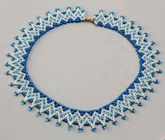 Free pattern for necklace Welkin | Beads Magic
