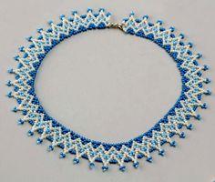 Free pattern for necklace Welkin