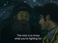 Loving Vincent, Dorota Kobiela and Hugh Welchman Drama-Mystery . Kafka Quotes, Film Quotes, Words Quotes, Qoutes, Cinema Quotes, Arte Van Gogh, Best Movie Quotes, Movie Lines, Typography Quotes