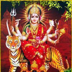 Navratri Puja will help you overcome all your negativities. Flourish with wealth on this Navratri by offering Homam to Lakshmi, Saraswathi & Durga. Shiva Parvati Images, Shiva Hindu, Durga Images, Shiva Art, Shiva Shakti, Hindu Deities, Hindu Art, Maa Durga Photo, Maa Durga Image