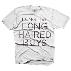Long Live Long Haired Boys - toddler – Fin First