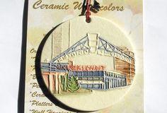 Milwaukee Public Market Ceramic-Watercolor by FaithAnnOriginals