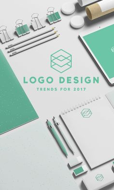 On the Creative Market Blog - Logo Design Trends for 2017
