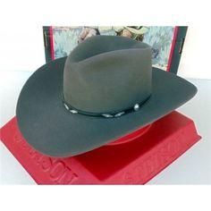 Stetson Cowboy Hat 4X Beaver Fur Felt Yukon Bullet