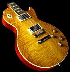 Lemon Burst Gibson Les Paul, Instruments, Guitar Pics, Guitar Collection, Gibson Guitars, Vintage Guitars, Music Stuff, Acoustic Guitar, Hobbies