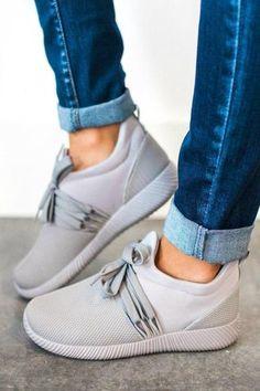 size 40 a4af7 b1080 Nacara Lace Up Sneaker Grey