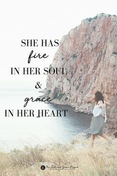 She faces each day with {grit + grace} ✨ wisdom for women, hope for women, inspiration, motivation, wise words, purpose, beauty, strong woman, women of strength, strong women, quotes, quotes for women #gritandgracelife
