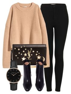 Untitled #6298 by laurenmboot on Polyvore featuring polyvore, fashion, style, Topshop, Yves Saint Laurent, ROSEFIELD and clothing