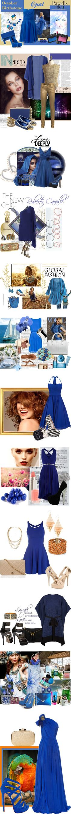 """Blue 2"" by elena-indolfi on Polyvore"