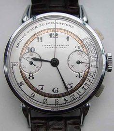 Girar-Perregaux Doctors Chronometer circa 1940s