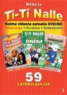 5,95e Ti-ti Nalle taikarumpu & kuvakirja & seikkailuleiri (DVD)
