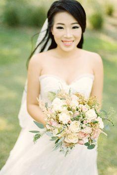 Wedding Day Wedding Dress Wedding Bouquet Rustic Bouquet Film Photography Bride Preparation Gunawan & Melisa