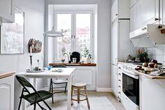Un appartement riche en contrastes