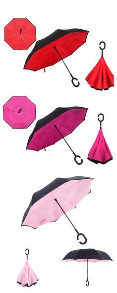 #Insideout #ReversedUmbrella #C-shapedUmbrella #handsfree #DoubleLayerd #YellowTerrace #umbrella #rainyDay #rain #selfStand #wetFree