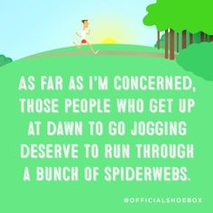 That's a whole lotta nope. Go Jogging, Morning Running, Back To Work, Life Humor, Monday Motivation, Funny Pictures, Movie Posters, Mornings, Cards