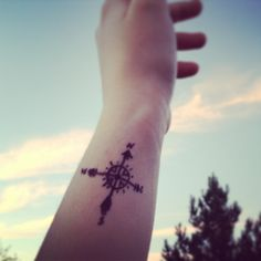 Compass tattoo!