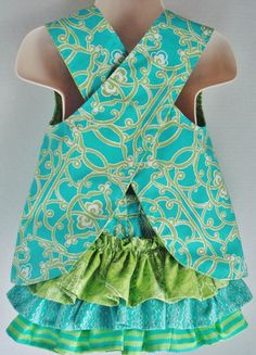 I love this style for baby girls!rt printing these patterns for my mom now...
