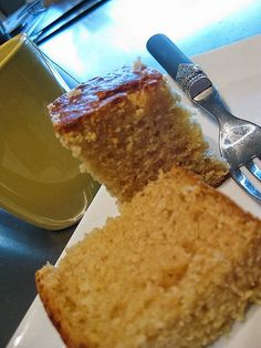 Thermomix Golden Syrup and Coconut cake - Bec's Table (Cooking School)