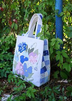 appliqued bag pattern